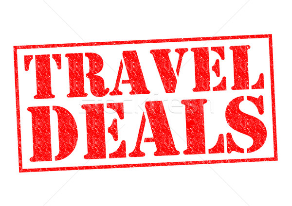 TRAVEL DEALS Stock photo © chrisdorney