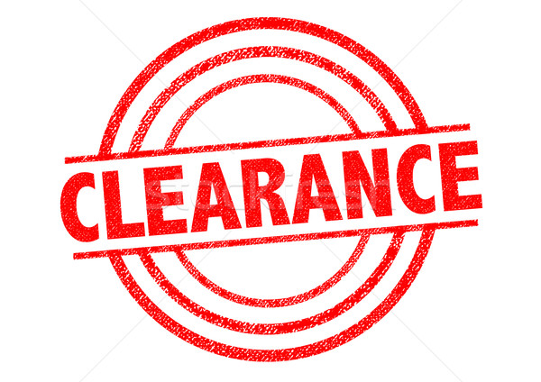 CLEARANCE Rubber Stamp Stock photo © chrisdorney