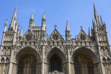 Universidad iglesia virgen oxford impresionante gótico Foto stock © chrisdorney