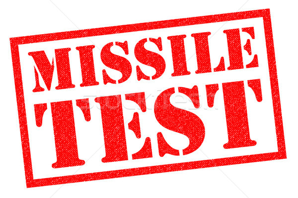 MISSILE TEST Stock photo © chrisdorney