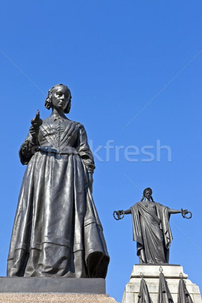 Florence Nightingale Statue and Crimean War Memorial Stock photo © chrisdorney
