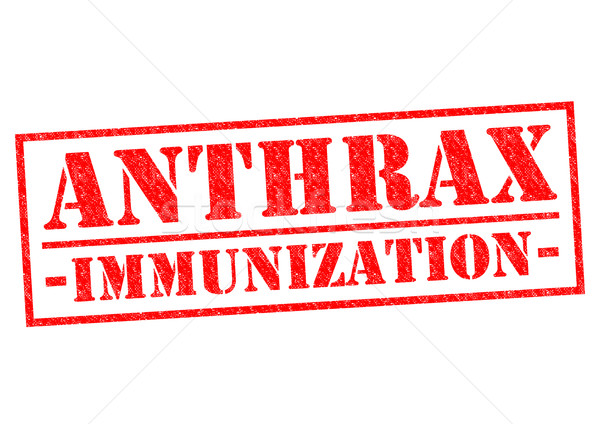 ANTHRAX IMMUNIZATION Stock photo © chrisdorney