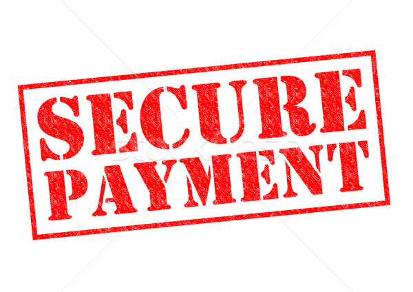 SECURE PAYMENT Stock photo © chrisdorney