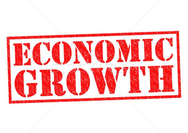 ECONOMIC GROWTH Stock photo © chrisdorney