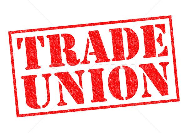 TRADE UNION Stock photo © chrisdorney