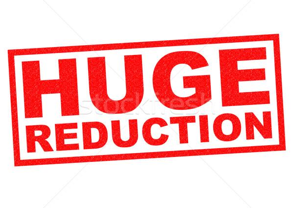 HUGE REDUCTION Stock photo © chrisdorney