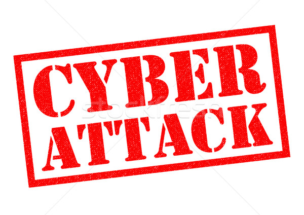 CYBER ATTACK Stock photo © chrisdorney