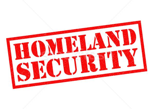 HOMELAND SECURITY Stock photo © chrisdorney