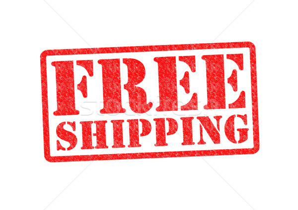 Envío libre blanco dinero compras publicidad Foto stock © chrisdorney