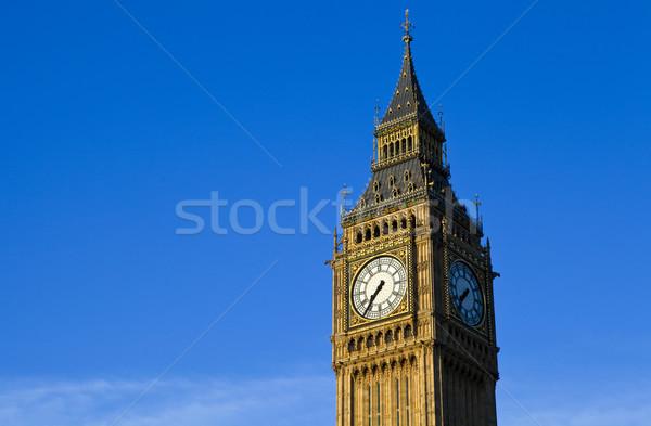 Big Ben maisons parlement Londres magnifique ville Photo stock © chrisdorney