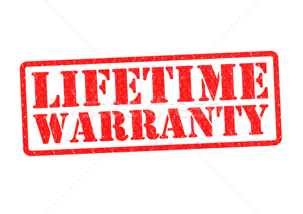 Garantie blanche sécurité vie marketing Photo stock © chrisdorney
