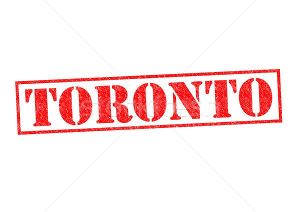 Toronto blanco vacaciones botón cultura Foto stock © chrisdorney