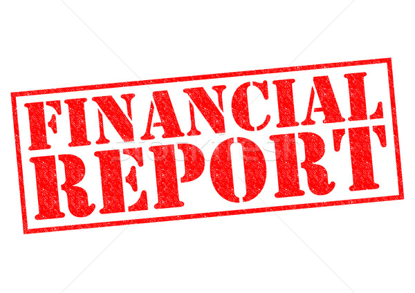 FINANCIAL REPORT Stock photo © chrisdorney