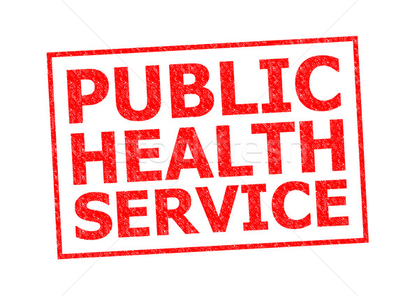 PUBLIC HEALTH SERVICE Stock photo © chrisdorney