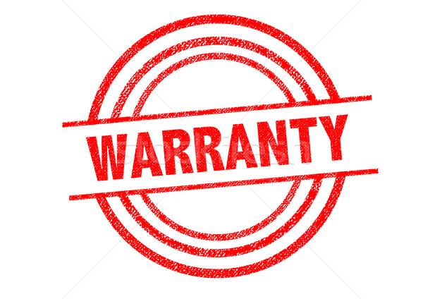 Garantía blanco negocios ley servicio Foto stock © chrisdorney