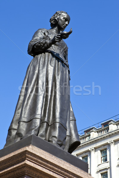 Florence Nightingale Statue in London Stock photo © chrisdorney