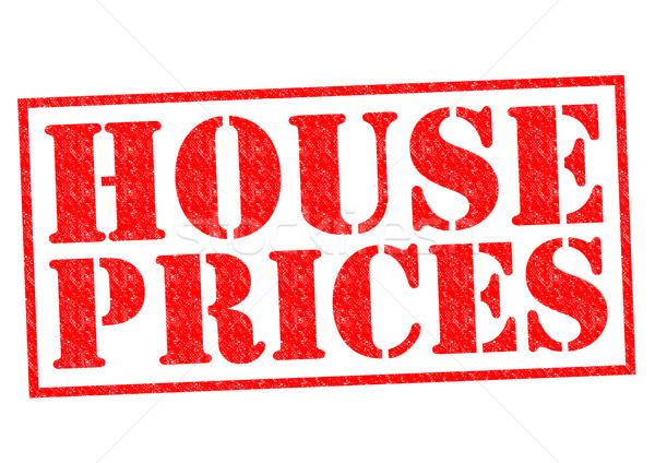 HOUSE PRICES Stock photo © chrisdorney