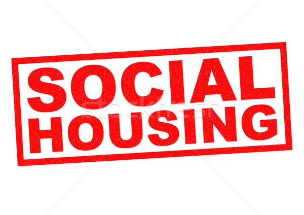 SOCIAL HOUSING Stock photo © chrisdorney