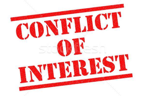 Stock photo: CONFLICT OF INTEREST
