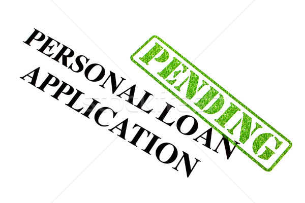 Personal Loan Application Stock photo © chrisdorney