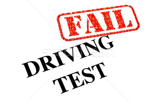 Driving Test FAIL Stock photo © chrisdorney