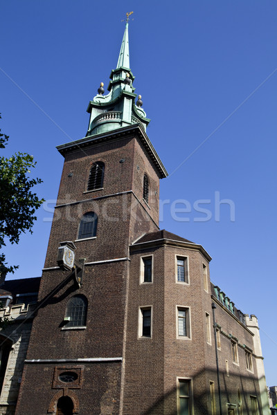 Stock photo: All Hallows by the Tower in London