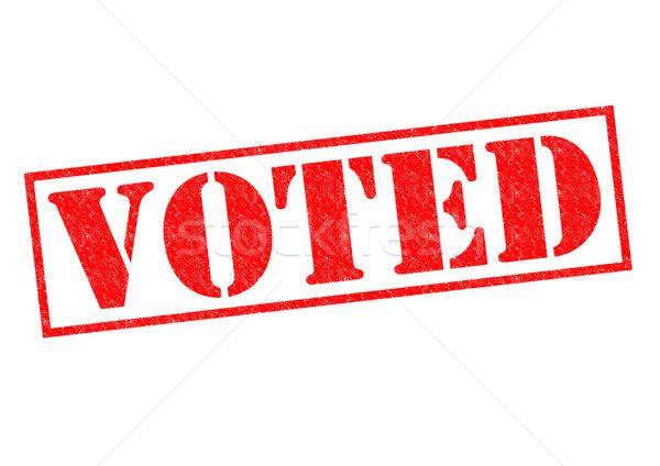 VOTED Stock photo © chrisdorney