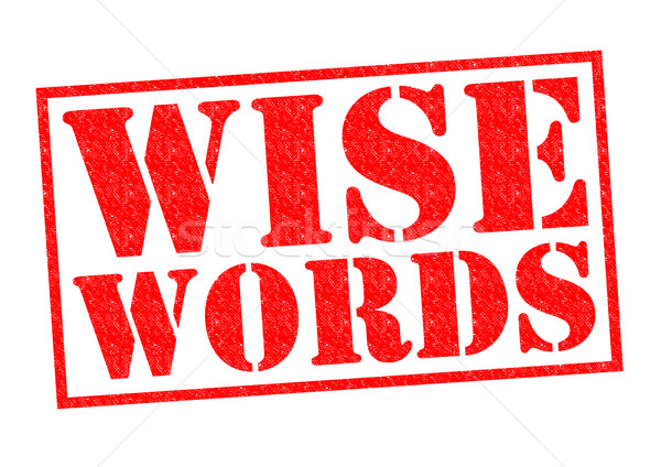 Saggio parole rosso bianco istruzione Foto d'archivio © chrisdorney
