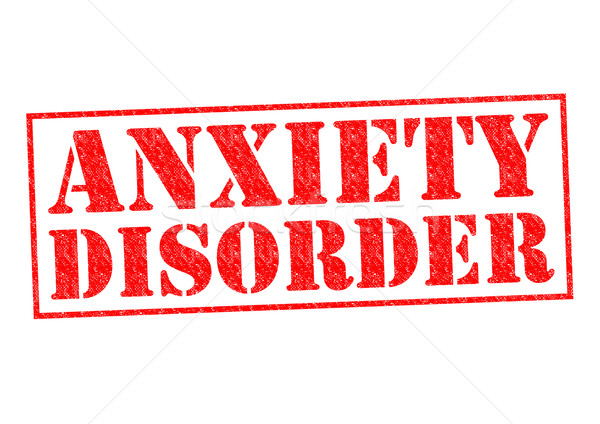 Stock photo: ANXIETY DISORDER