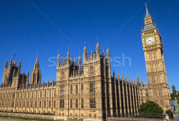Palace of Westminster in London Stock photo © chrisdorney