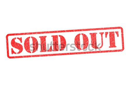 SOLD OUT Rubber Stamp Stock photo © chrisdorney