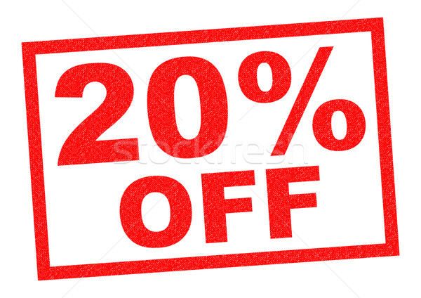20% OFF Stock photo © chrisdorney