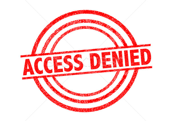 ACCESS DENIED Rubber Stamp Stock photo © chrisdorney