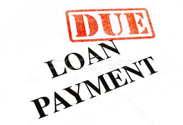 Loan Payment DUE. Stock photo © chrisdorney