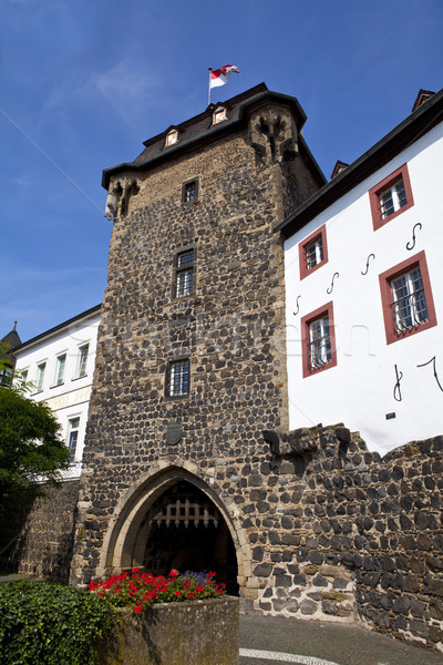 Rheintor Gate in Linz am Rhein in Germany Stock photo © chrisdorney