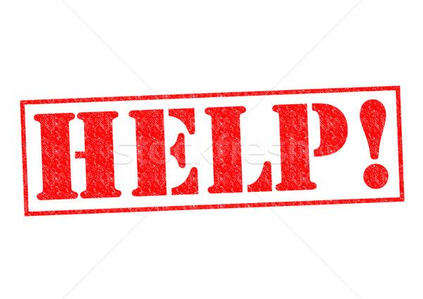 HELP! Stock photo © chrisdorney