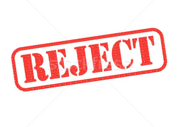 Reject Stamp Stock photo © chrisdorney
