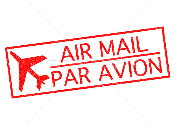 AIR MAIL/PAR AVION Stock photo © chrisdorney