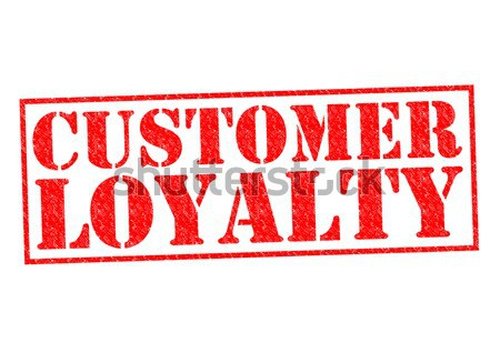 Kunden Loyalität rot weiß Warenkorb Stock foto © chrisdorney