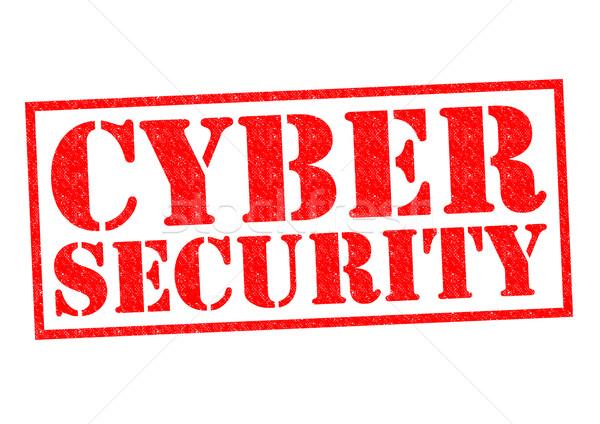 CYBER SECURITY Stock photo © chrisdorney