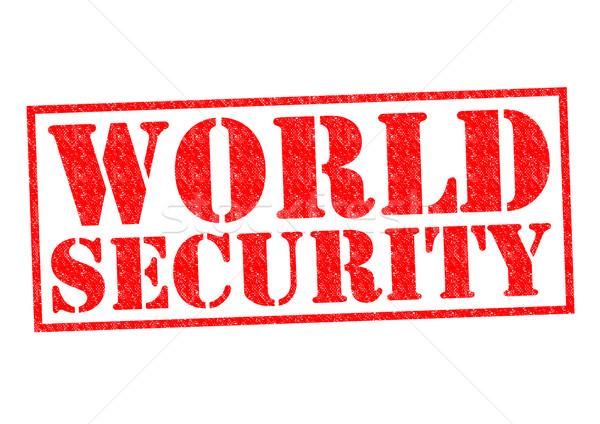 WORLD SECURITY Stock photo © chrisdorney