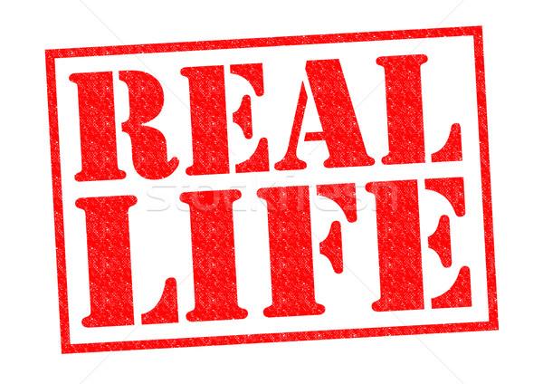 REAL LIFE Stock photo © chrisdorney