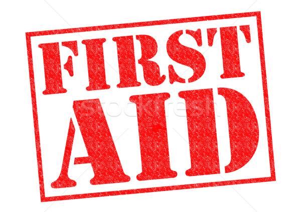 FIRST AID Stock photo © chrisdorney