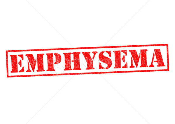 EMPHYSEMA Stock photo © chrisdorney