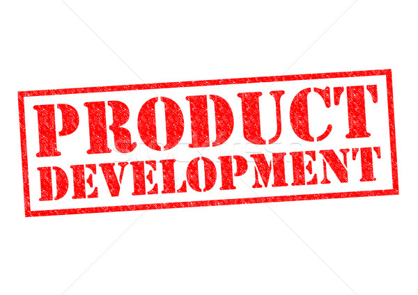 Produkt entwicklung rot wei business stock foto for Company product development