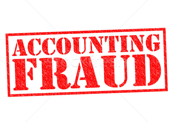 ACCOUNTING FRAUD Stock photo © chrisdorney