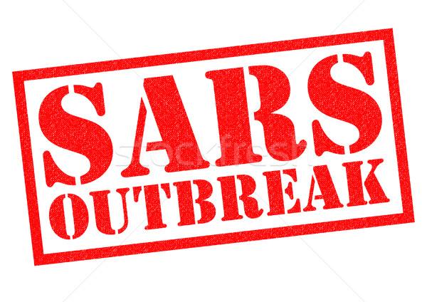 SARS OUTBREAK Stock photo © chrisdorney