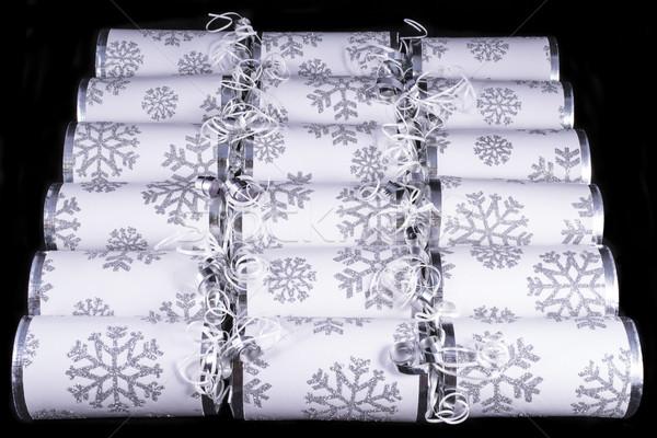 Traditional Christmas Crackers Stock photo © chrisdorney