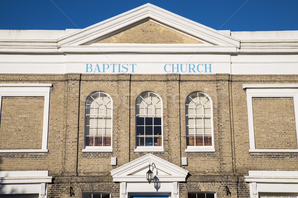 Colchester Baptist Church Stock photo © chrisdorney