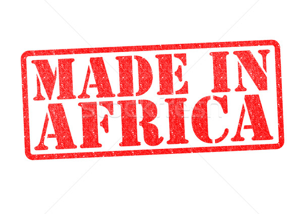 MADE IN AFRICA Rubber Stamp Stock photo © chrisdorney